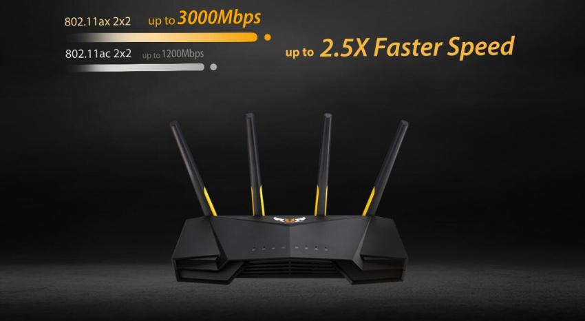 ASUS TUF GAMING AX3000 WiFi 6 - 訊達科技 Cosmic Technology