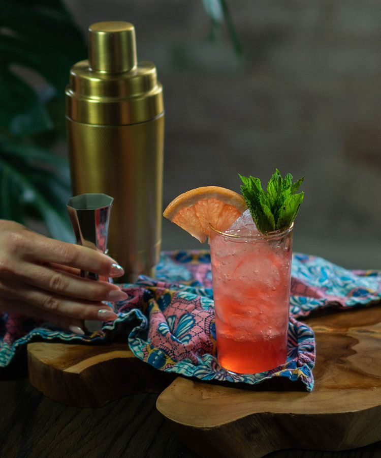 The Hibiscus Citrus Tea Cocktail | VinePair