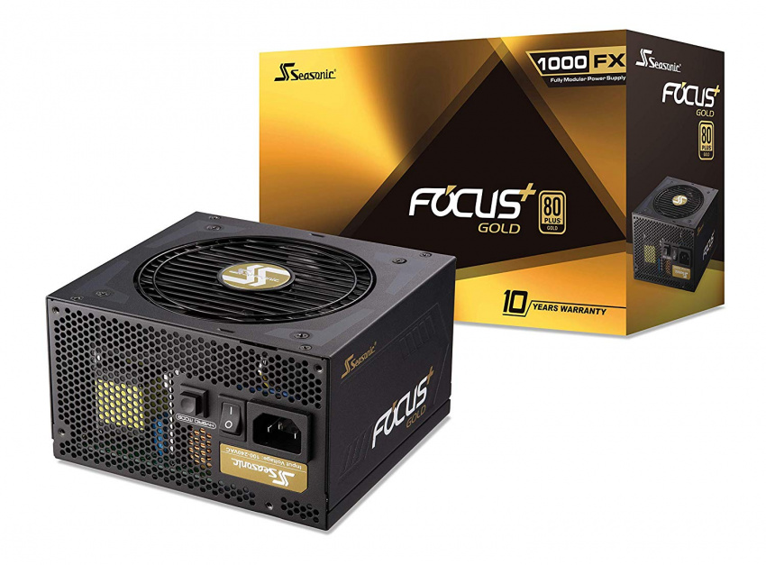 SeaSonic Focus Plus 1000w Gold 80Plus Full Modular Power ...